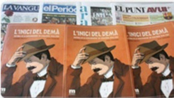 Les biblioteques locals distribueixen el còmic de la Mancomunitat