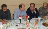 Els membres de la comissió organitzadora de la Festa Major