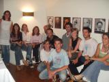 Foto de família dels organitzadors de la Festa Major i les Barraques