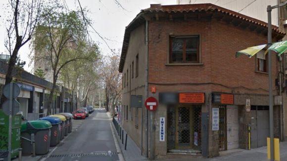 L'Ajuntament enderrocarà un immoble a Lluís Companys per ampliar Manel Farrés