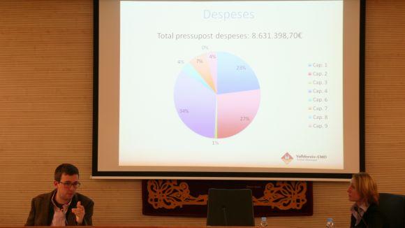 La tisora redueix els comptes de l'EMD un 14% i retalla a un milió la inversió