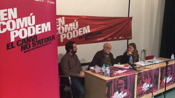 En Comú Podem defensa la 'sobirania plena' més enllà del procés català
