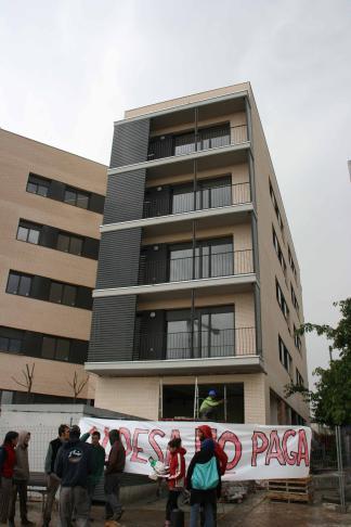 Germans Moabed denuncia que Aldesa encara deu 50.000 euros per treballs als pisos de Promusa a Vulpalleres