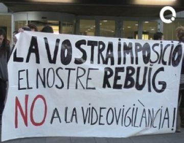 El projecte de videovigilància segueix endavant tot i l'oposició d'ICV i ERC