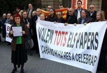 La Comissió de la Dignitat denunciarà el govern espanyol si no es reactiva el retorn dels Papers de Salamanca