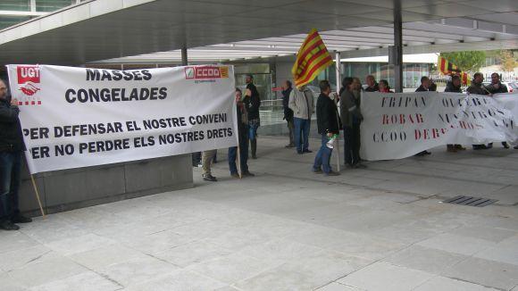 Els treballadors d'Europastry es queixen del canvi de conveni que els volen aplicar