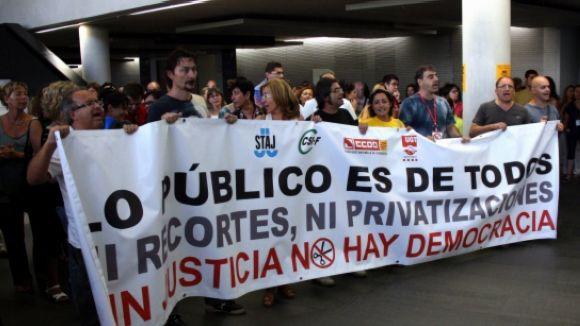 La ciutat demana la retirada del projecte de llei espanyola de Seguretat Ciutadana