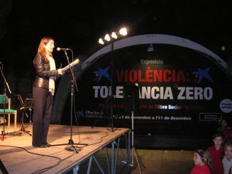 Suport unànime del ple a la lluita contra la violència de gènere