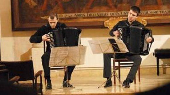 L'acordió, protagonista aquest dissabte a l'Escola Municipal de Música Victòria dels Àngels