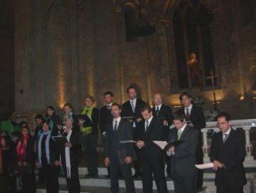 El Cor de Cambra del Monestir es reuneix en una ocasió única per homenatjar Camps i Calduch