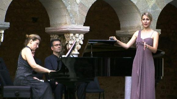 Les Nits de Música al Claustre acullen la cloenda del Curs Internacional de Cant