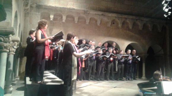 Verdi i Wagner, més a prop entre els capitells del Claustre