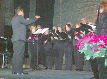 La Coral de La Unió demostra amb el concert de Nadal que és part de la cultura de la ciutat