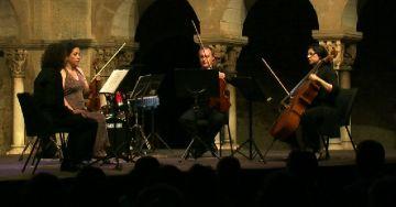 Quartet Hekàteros protagonitza un concert de pel·lícula al Claustre