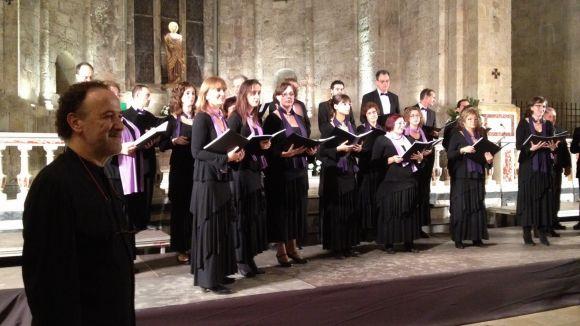 Anterior concert de música sacra al Monestir