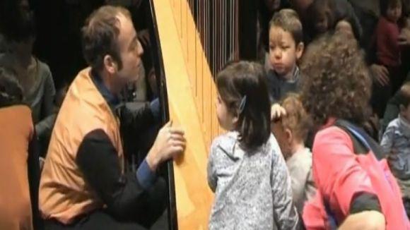 El concert per a nadons del Teatre-Auditori, al programa 'Cultura't'