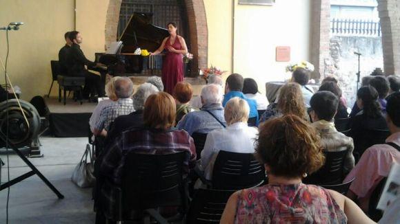 La soprano Sagrario Salamanca, Premi Camerta de cant
