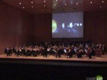 Ple absolut del 'Concert Astronòmic' al Teatre-Auditori