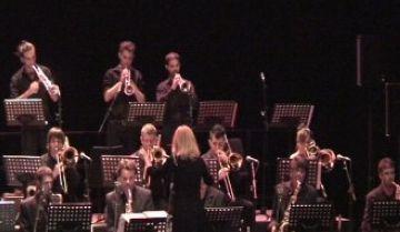 Maria Schneider captiva el públic del Teatre-Auditori amb la big band de l'ESMUC