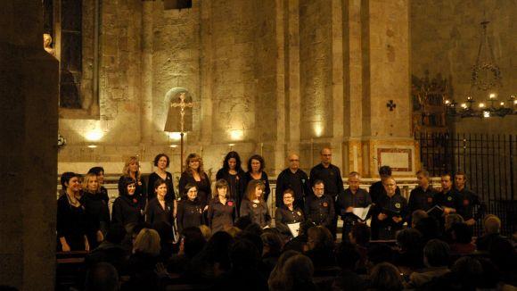 Sant Cugat celebra Santa Cecília amb un concert de cant coral al Monestir