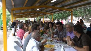 Més de 300 persones s'han aplegat al concurs de paelles d'enguany
