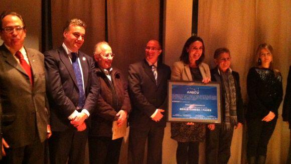 L'Associació Astronòmica local nomena Conesa presidenta honorífica