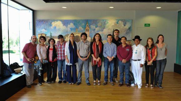 Una delegació del municipi equatorià de Cotacachi visita Sant Cugat