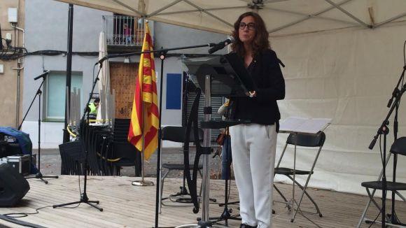 Conesa demana a la ciutadania suport a la independència en el discurs institucional