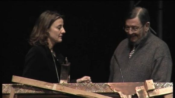 2011: Pere Formiguera rep el Premi Extraordinari Ciutat de Sant Cugat 2010