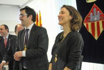 Conesa destaca la solidaritat dels santcugatencs en el seu primer any com alcaldessa