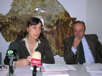 Conesa i Giordani, en una foto d'arxiu