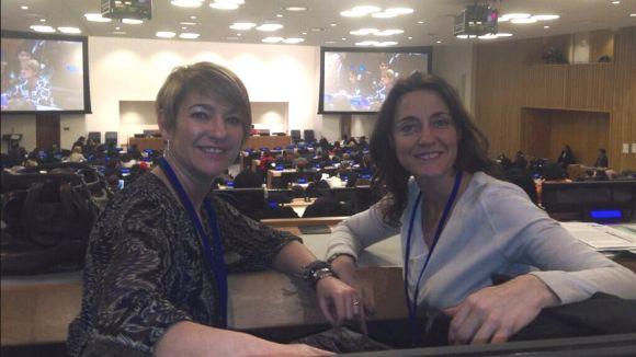Mercè Conesa participa en un fòrum de les Nacions Unides a Nova York