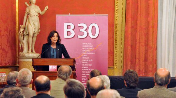 La constitució de l'Associació Àmbit B30, dimarts al Sincrotó Alba