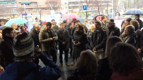 Sant Cugat se suma a les concentracions en defensa del model educatiu català promogudes per Somescola