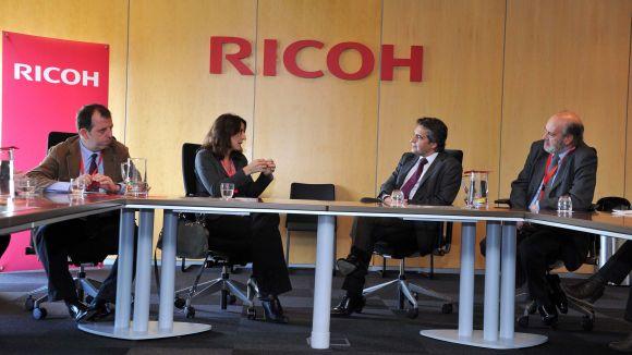Ricoh i la ciutat renoven el seu compromís de col·laboració