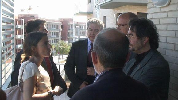Entesa entre Banc Santander i l'Ajuntament per promoure habitatge públic