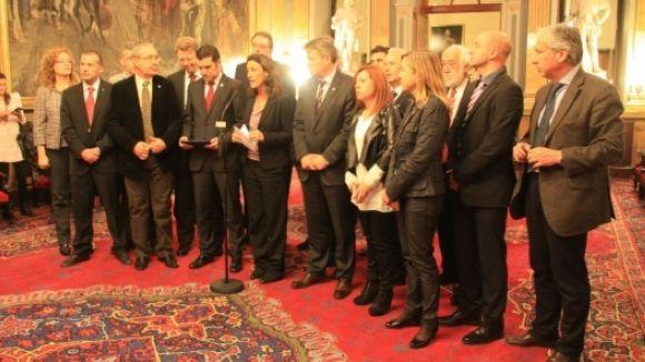 Els alcaldes catalans alcen la veu a Madrid contra la reforma local del PP