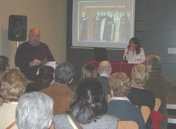 La historiadora Marina Miquel enceta el cicle de conferències sobre la vida monàstica al Museu de Sant Cugat