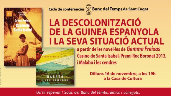 El Banc del Temps organitza una xerrada sobre la descolonització de Guinea