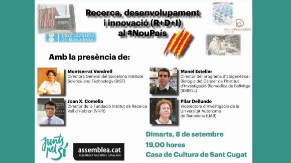 La Casa de Cultura acull un debat sobre ciència en una Catalunya independent