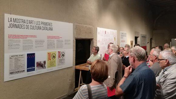 El 40è Aniversari del Congrés de Cultura Catalana protagonitza una exposició al Museu del Monestir