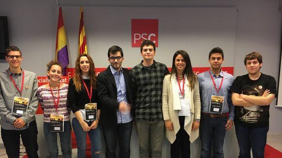 El santcugatenc Francesc Aguilà, secretari de Formació de la JSC del Vallès Occidental