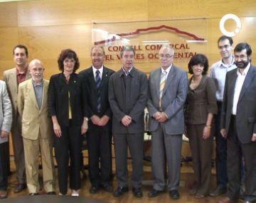 Formalitzat al Consell Comarcal el Pacte d'Alcaldes contra el canvi climàtic