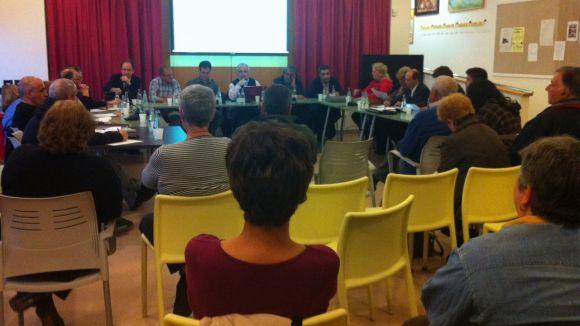 La trobada ha comptat amb l'assistència d'una cinquantena de persones