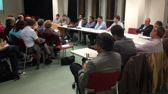Imatge de la sessió del consell de barri Centre-Est d'aquest dilluns