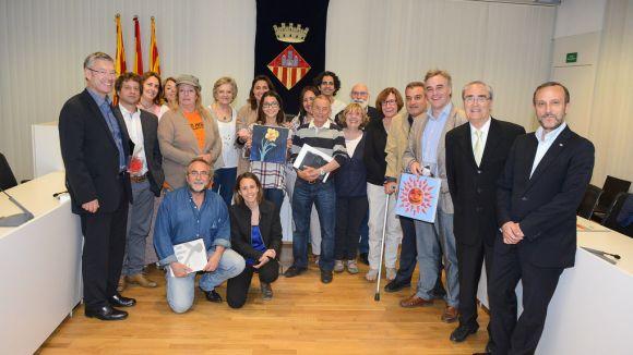 Representants del Consell de Ciutat / Foto: Localpres