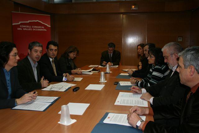 Una comissió d'alcaldes vetllarà pel futur de les infraestructures de la comarca