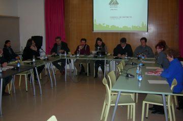 Crítiques a l'equip de govern per la nevada al consell de districte de les Planes