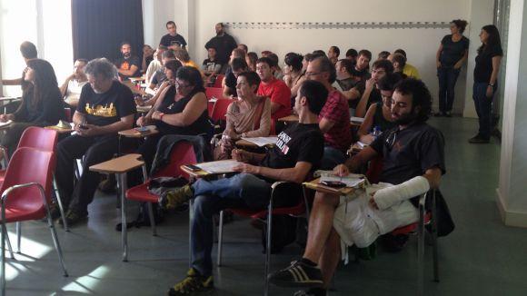 La CUP aborda a Sant Cugat l'estratègia política després del 9N