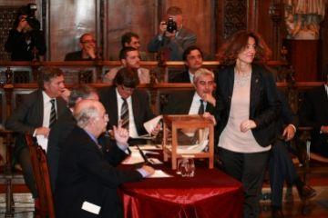 Conesa agraeix al govern que es posicioni a favor dels ajuntaments amb l'afer de les bestretes